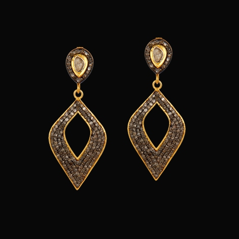 mystic-elegance-vintage-style-diamond-earrings-sivalya